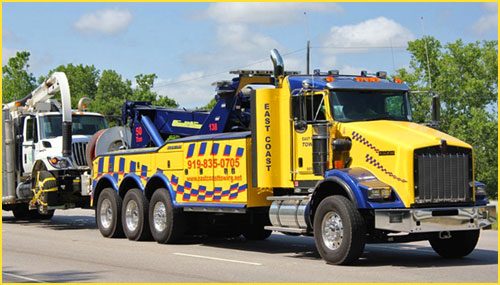 Heavy Towing, Big Truck Wrecker - Raleigh NC