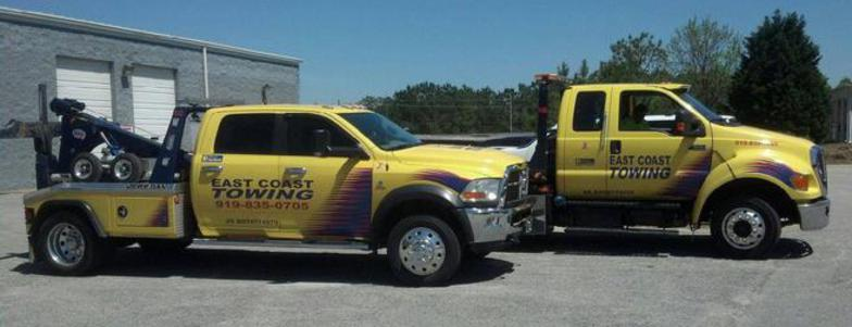 wrecker services raleigh roadside assistance cary towing